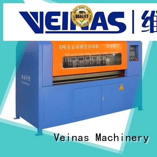 Veinas slitting cutting eva foam cutting machine high speed for cutting