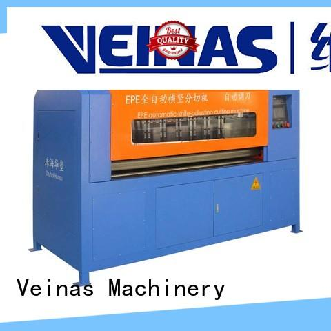 durable veinas epe foam cutting machine price machine easy use for foam