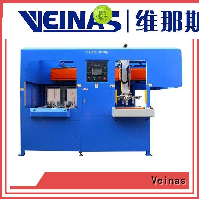 Veinas discharging EPE foam automation machine Easy maintenance for packing material