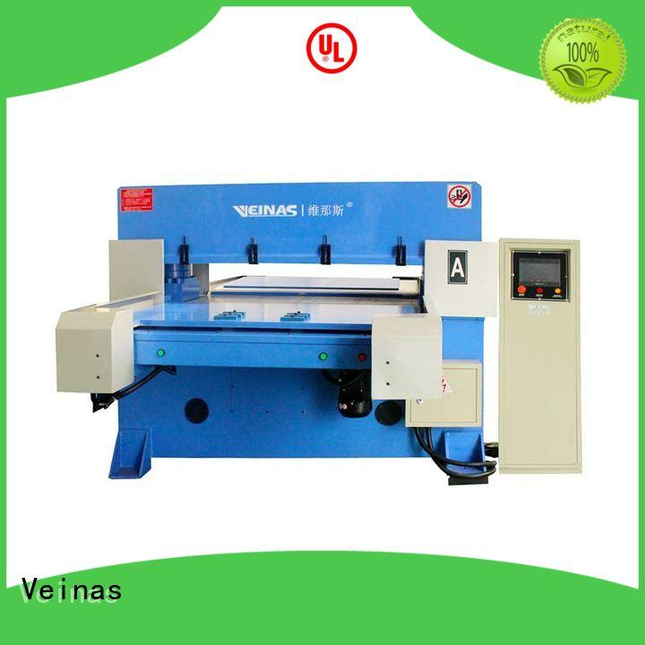 hydraulic shearing machine fourcolumn for bag factory Veinas