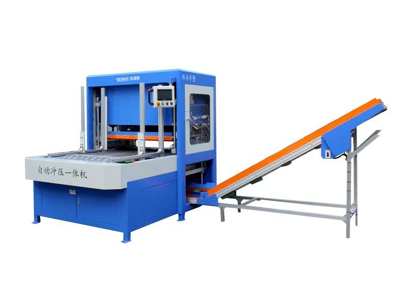 Veinas shaped round hole punching machine supply for packing plant