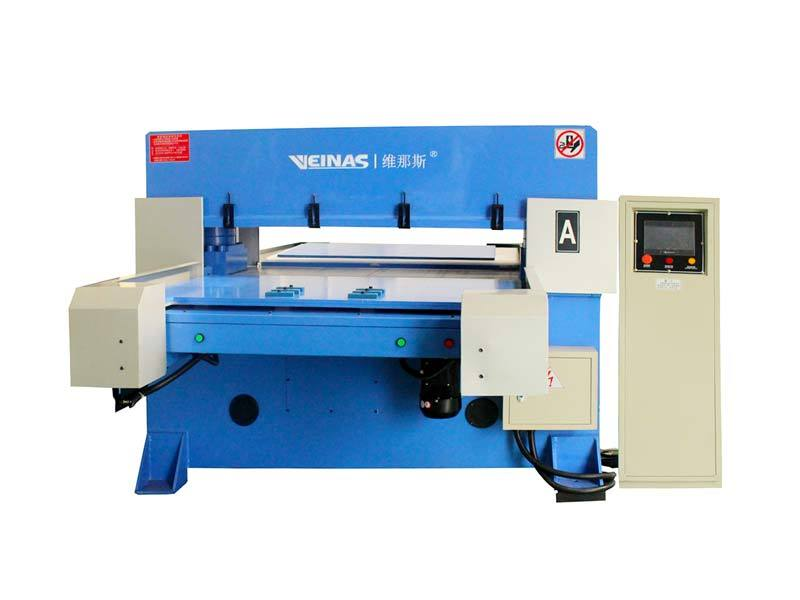 high efficiency hydraulic cutting machine doubleside simple operation for bag factory