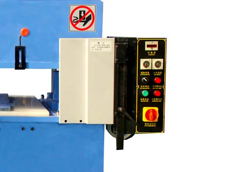 Veinas hydraulic hydraulic sheet cutting machine simple operation for shoes factory-2