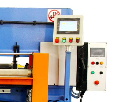 Fully Automatic Roller Feeding Precision Hydraulic Cutting Machine-2