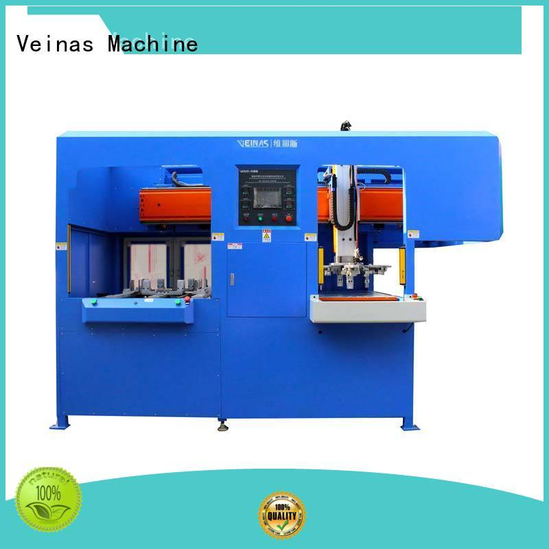 Veinas Brand discharging station protective lamination machine price manufacture