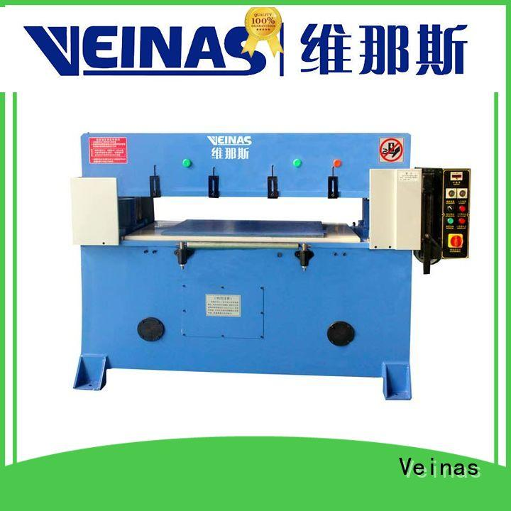 Veinas adjustable hydraulic cutting machine promotion for shoes factory