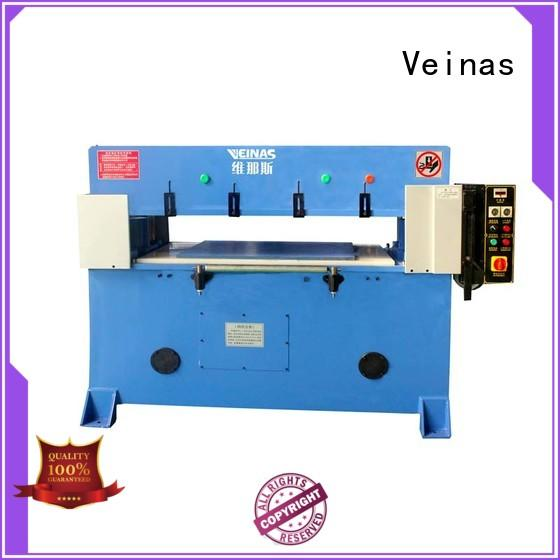 Veinas high efficiency hydraulic shearing machine simple operation for shoes factory