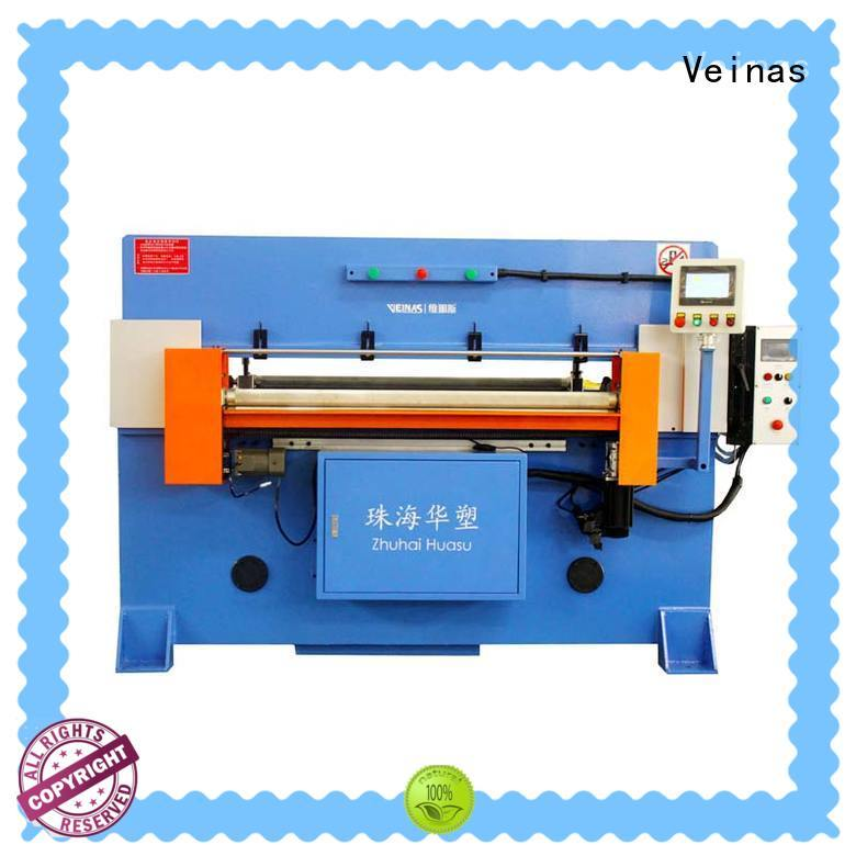 Veinas fully hydraulic shear energy saving for shoes factory