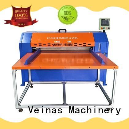 Veinas professional epe foam sheet cutting machine working video energy saving for cutting