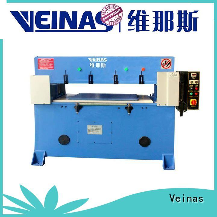 Veinas precision hydraulic shear energy saving for shoes factory