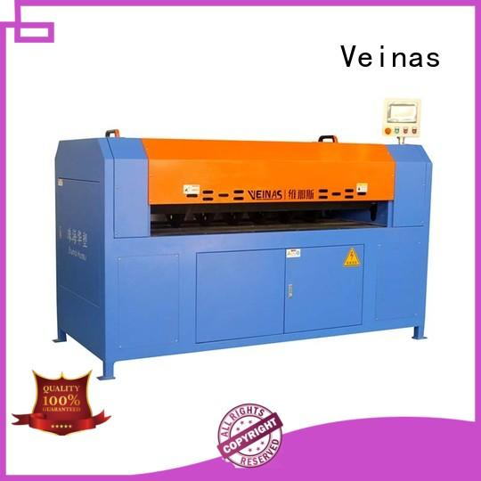 Veinas adjusted vertical foam cutting machine supplier for wrapper