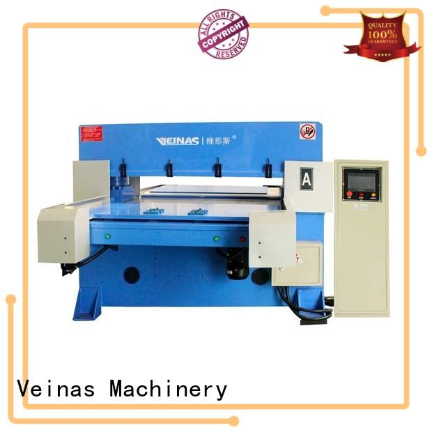 Veinas cutting hydraulic shearing machine simple operation for shoes factory