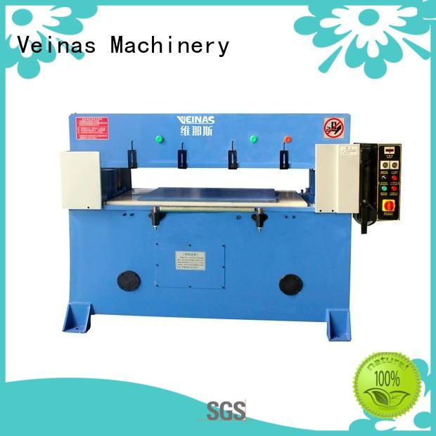 Veinas hydraulic hydraulic sheet cutting machine simple operation for shoes factory
