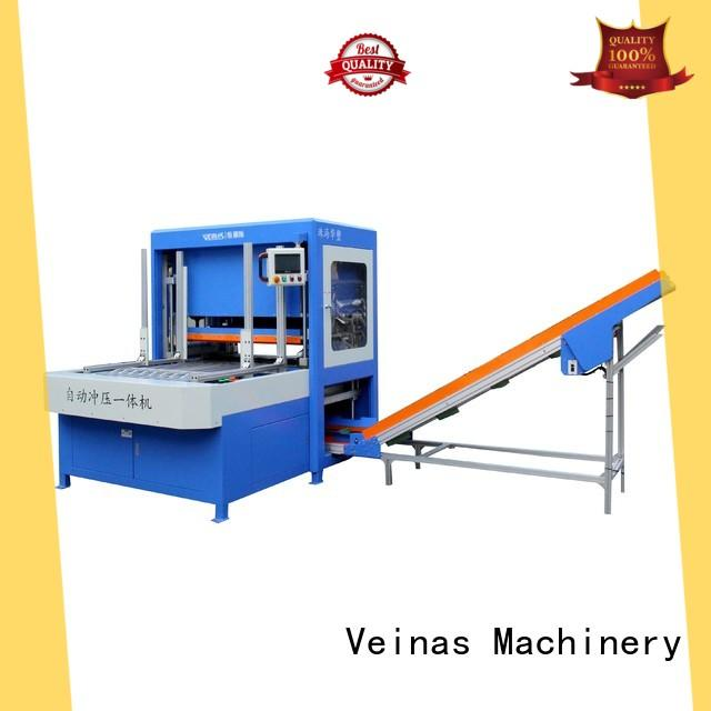 Veinas shaped hydraulic punching machine high quality for packing plant