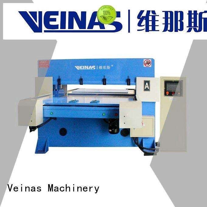 Veinas automatic hydraulic shearing machine manufacturer for factory