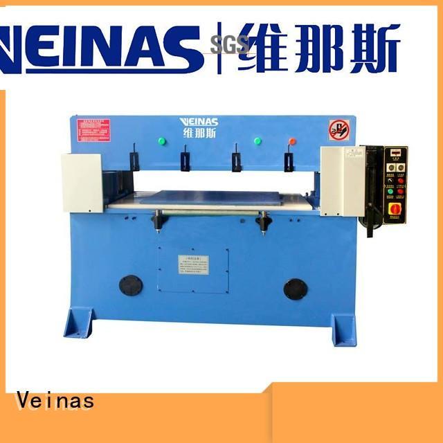 Veinas adjustable hydraulic cutting machine for sale for workshop