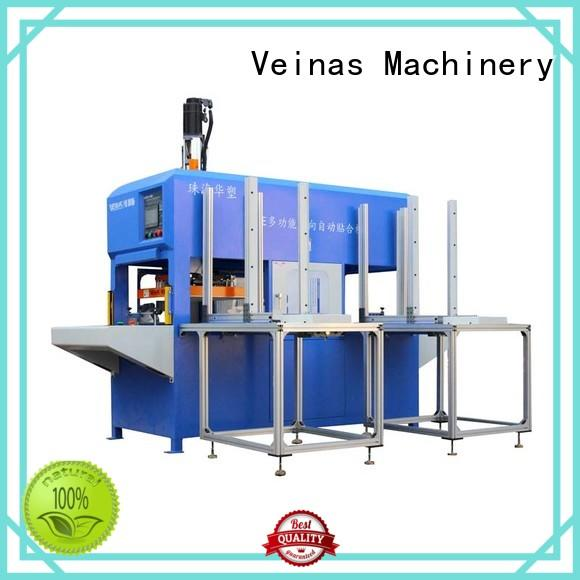 Veinas discharging roll to roll laminator high efficiency for laminating