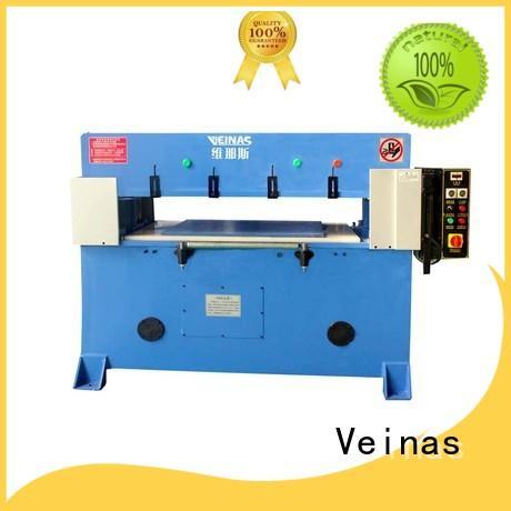 Veinas autobalance hydraulic die cutting machine simple operation for workshop