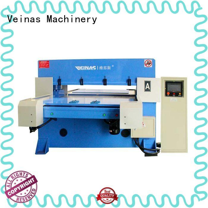 Veinas high efficiency hydraulic angle cutting machine promotion for workshop