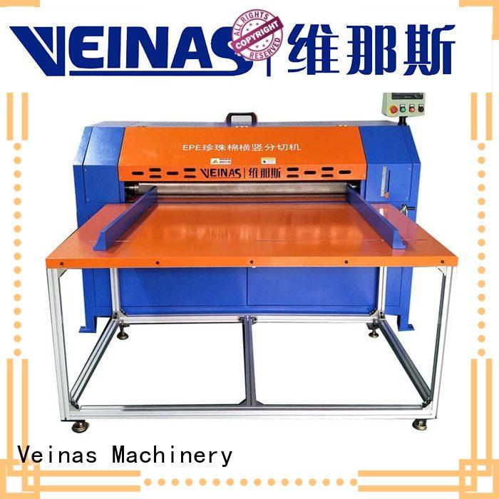 Veinas durable foam cutting machine price length for factory