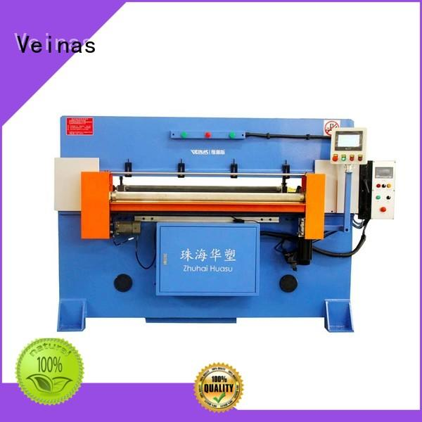 Veinas adjustable hydraulic shear energy saving for shoes factory