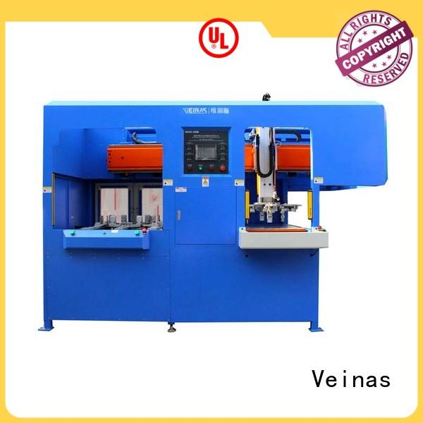 Veinas shaped industrial laminating machine factory price for workshop