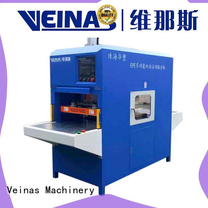 Veinas stable plastic lamination machine factory price for laminating