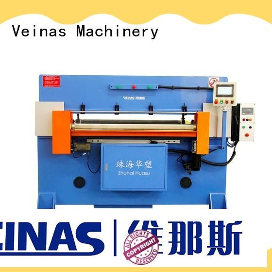 Veinas durable hydraulic shearing machine simple operation for bag factory