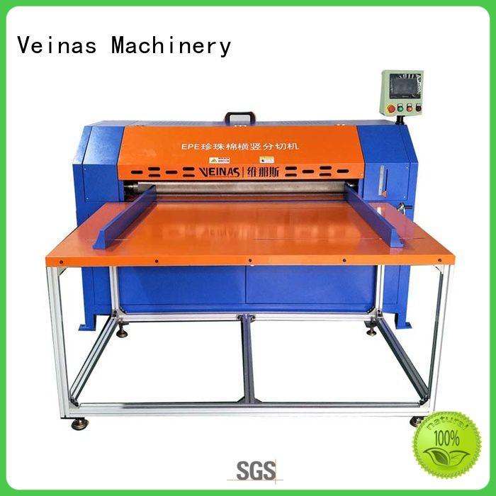 adjusted vertical foam cutting machine slitting high speed for factory