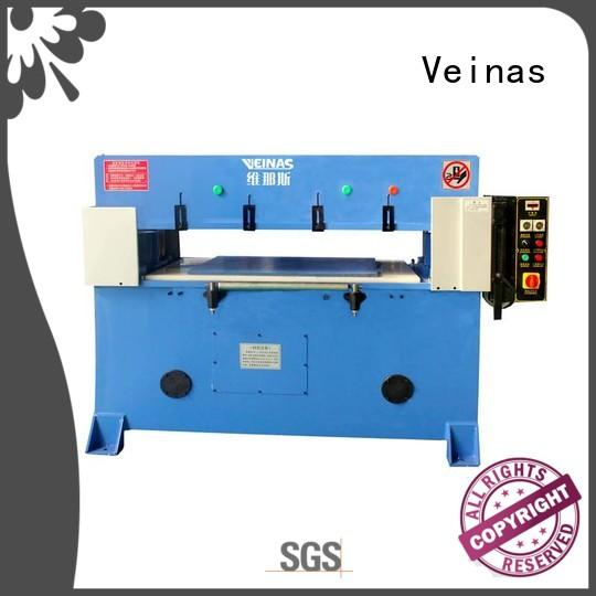 Veinas fully hydraulic cutting machine energy saving for shoes factory