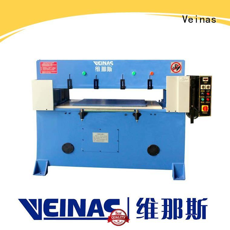 Veinas durable hydraulic shear promotion for shoes factory