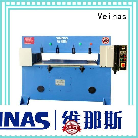 Veinas precision hydraulic cutting machine for sale for bag factory