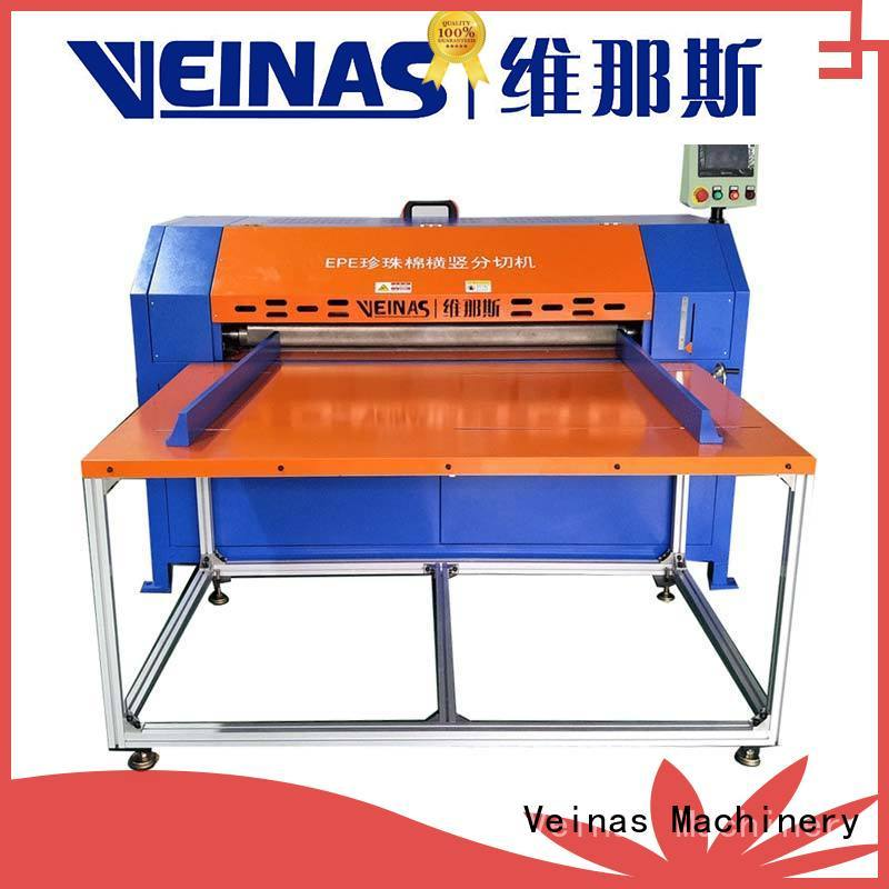 Veinas machine slitting cutter high speed for foam
