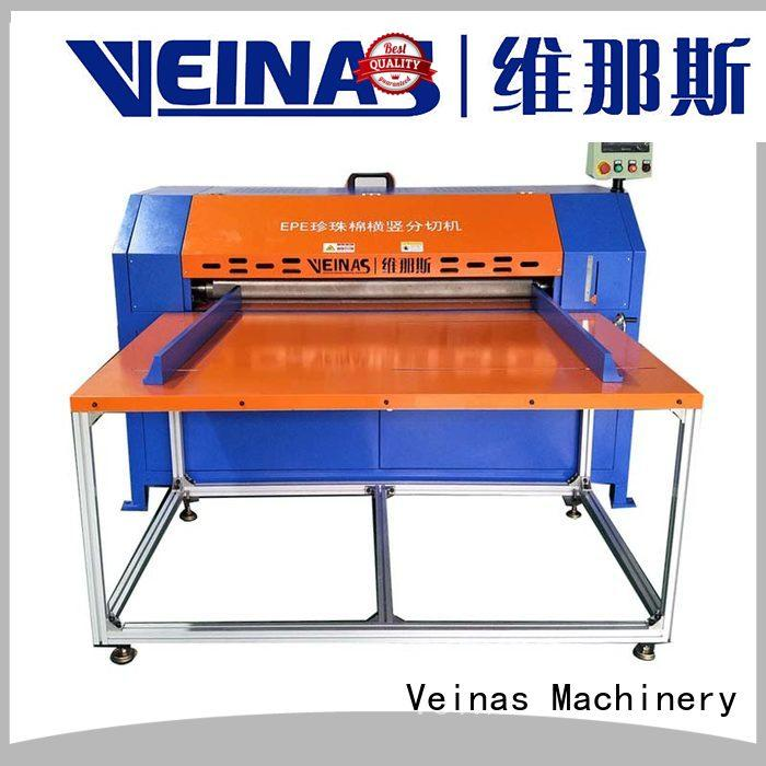 Veinas flexible epe cutting machine supplier for foam