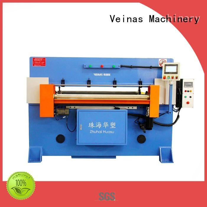 Veinas adjustable hydraulic cutting machine simple operation for workshop