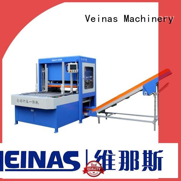 Veinas shaped EPE punching machine easy use for foam