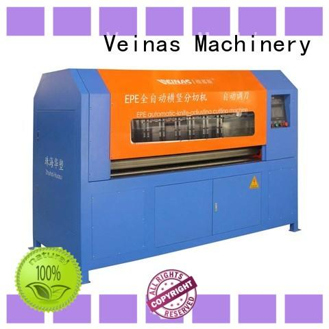 Veinas breadth epe foam cutting machine proce in india supplier for wrapper