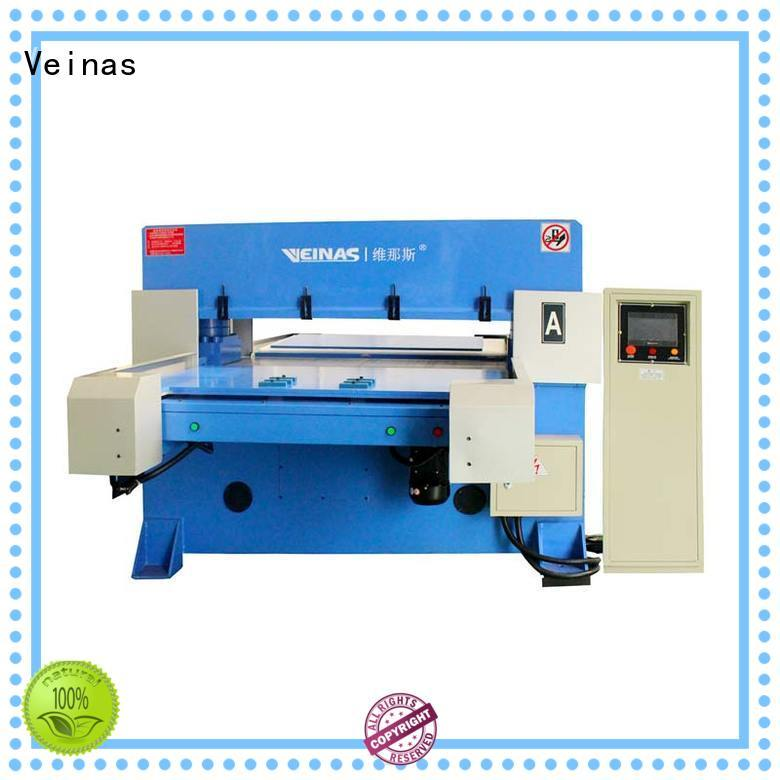 Veinas fourcolumn hydraulic shearing machine for sale for shoes factory
