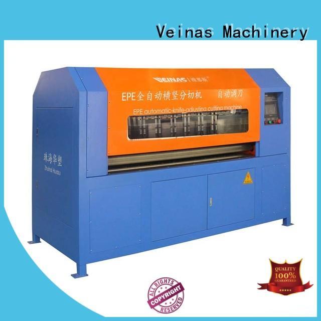 Veinas cutting epe foam sheet cutting machine easy use for workshop