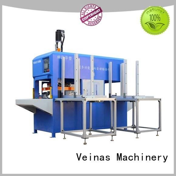 Veinas angle laminating machine brands Simple operation for factory
