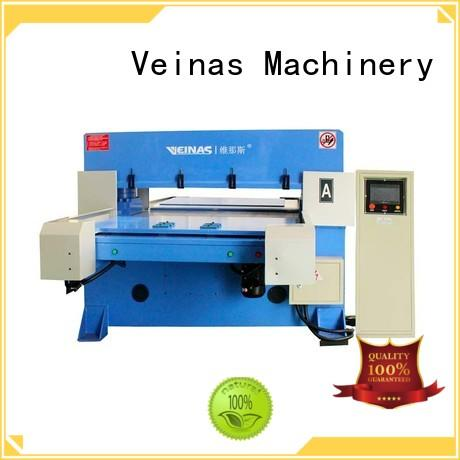 Veinas fully hydraulic shear simple operation for bag factory