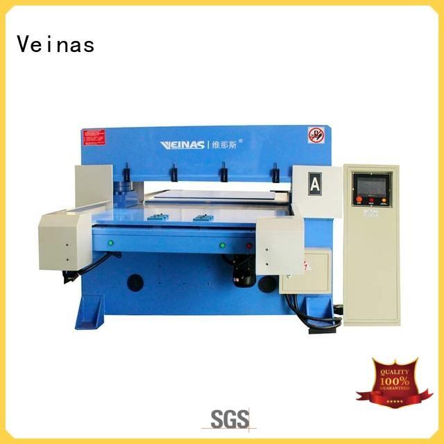 durable hydraulic die cutting machine energy saving for bag factory Veinas