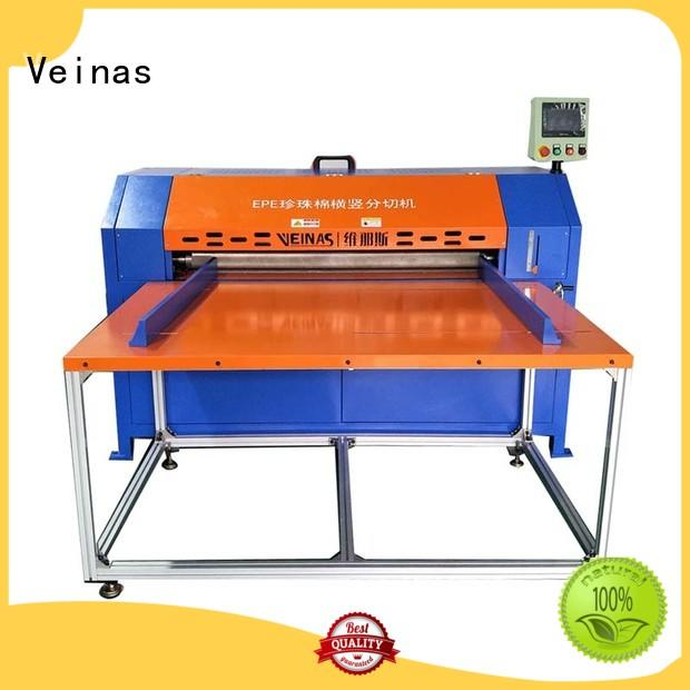 durable veinas epe cutting foam machine machine high speed for cutting