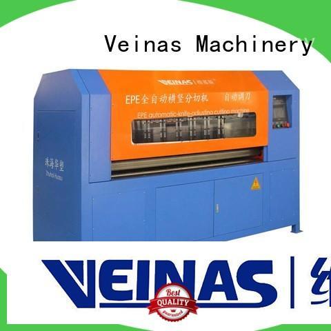 Veinas hispeed epe foam cutting machine easy use for workshop