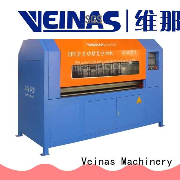 Veinas durable epe foam cutter and presser supplier for cutting
