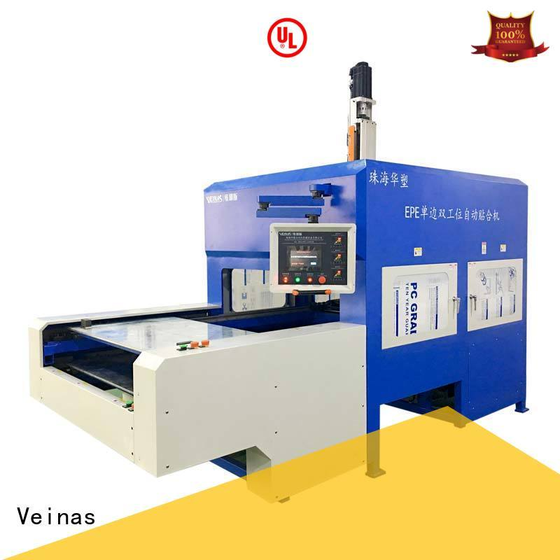 Veinas discharging foam lamination process for sale for laminating