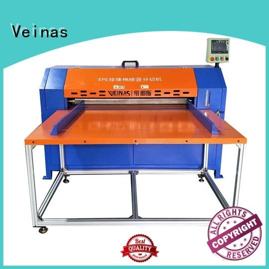 Veinas automaticknifeadjusting foam cutting machine manufacturers for sale for foam