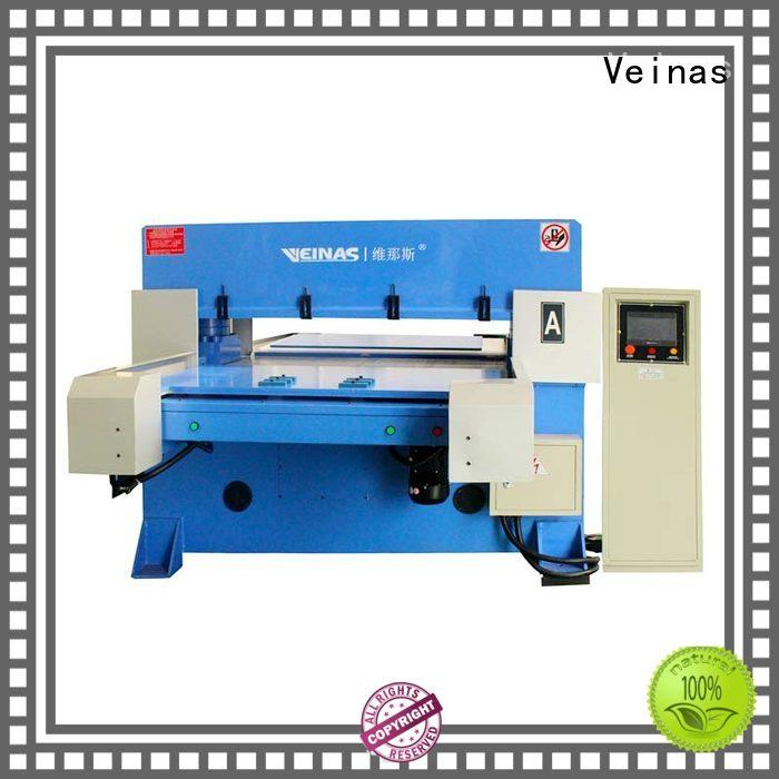 Veinas high efficiency hydraulic shear for sale for bag factory