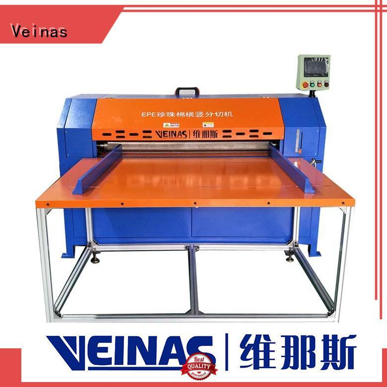 Veinas flexible epe foam cutter and presser energy saving for wrapper