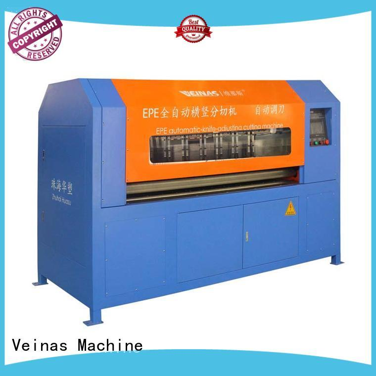 Quality Veinas Brand foam board cutting machine slitting